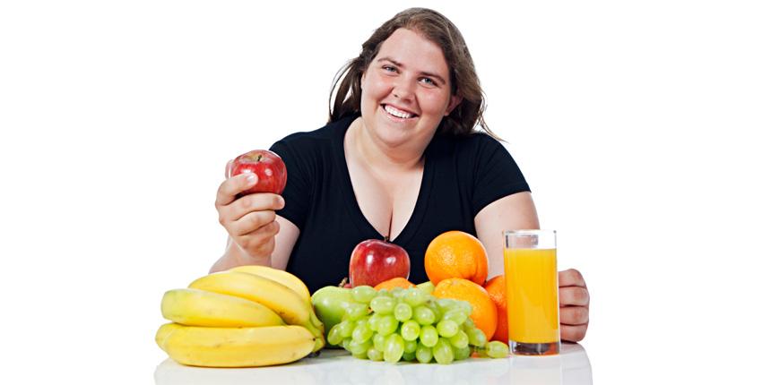 Buenos hábitos alimentarios pero obeso